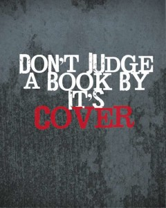 judge a book by cover