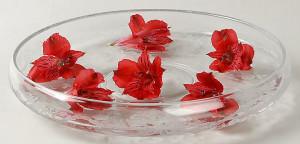 crystal water bowl